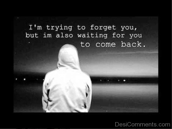 Picture: I'm Trying To Forget You