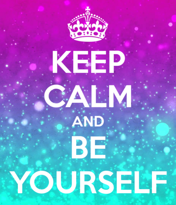 Image Of Keep Calm And Be Yourself-DC0056