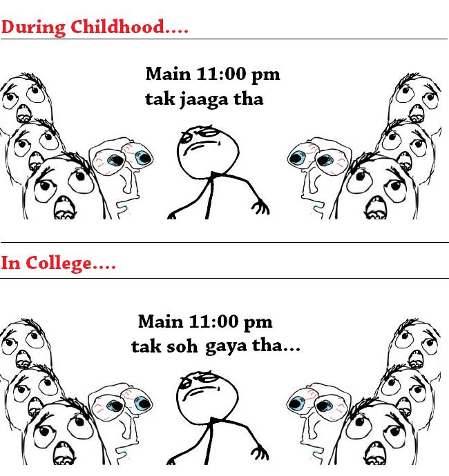 In College