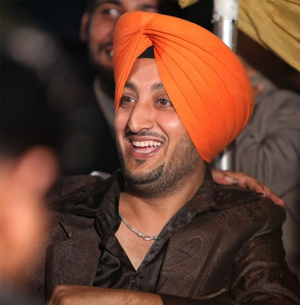 Inderjit Nikku In Orange Turban