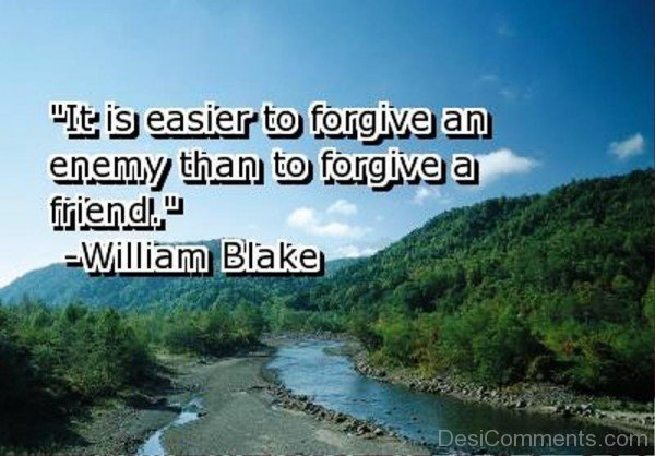 It Is Easier To Forgive An Enemy-dc1218