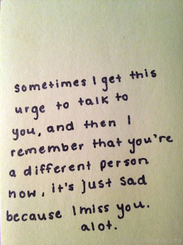 Sad I Miss You Quotes for Friends