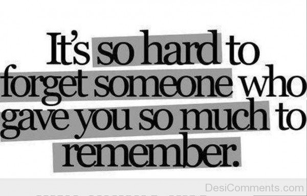 It's So Hard To Forget Someone-hnm316desi15