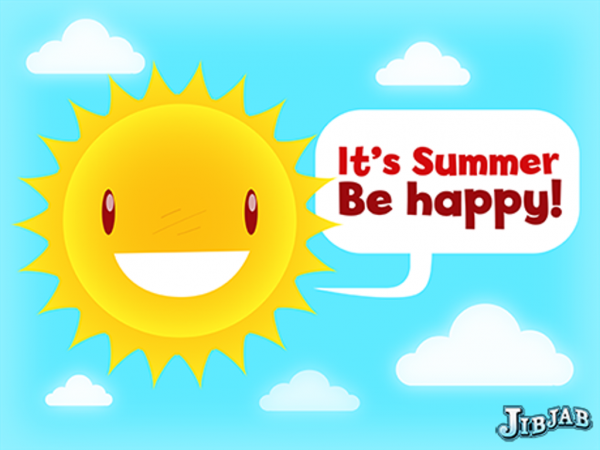 It's Summer - Be Happy !-DC71