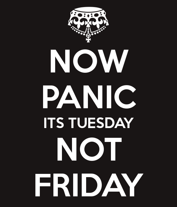 its tuesday not friday desicommentscom
