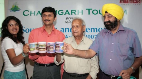 Jaspal Bhatti Promoting Chandigarh Tourism