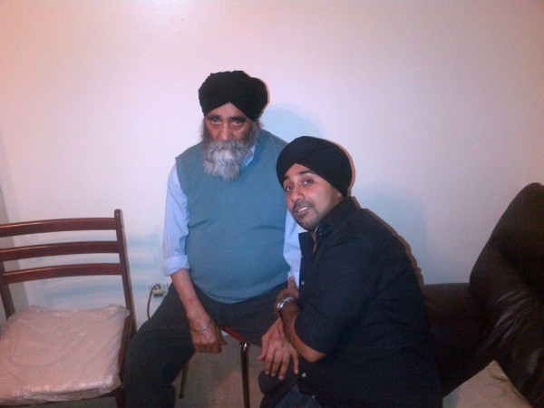 Jassi Sidhu With Father