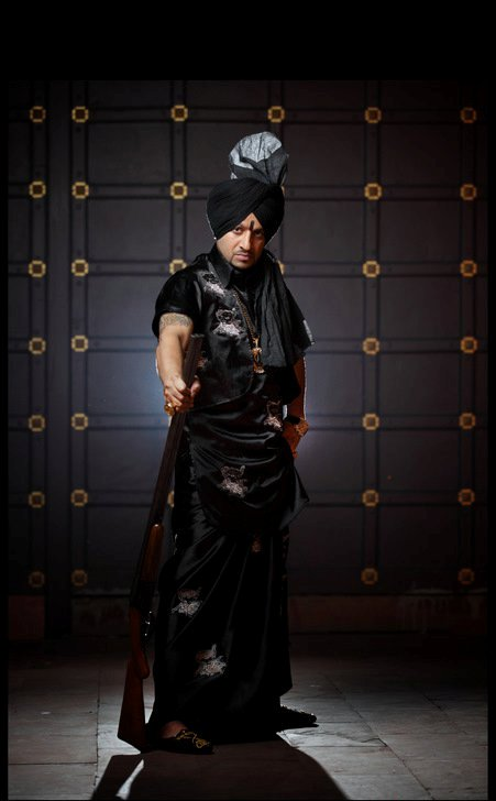 Jazzy B In Punjabi Dress