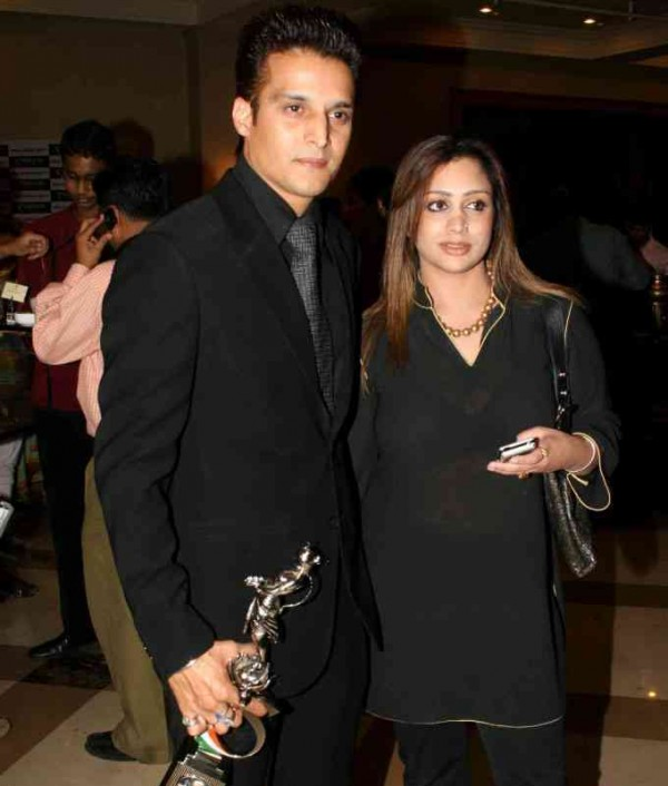 Jimmy Shergill And His Wife