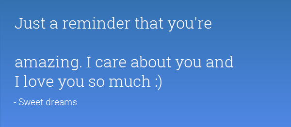 Just A Remember That You're Amazing I Care About You-DC01