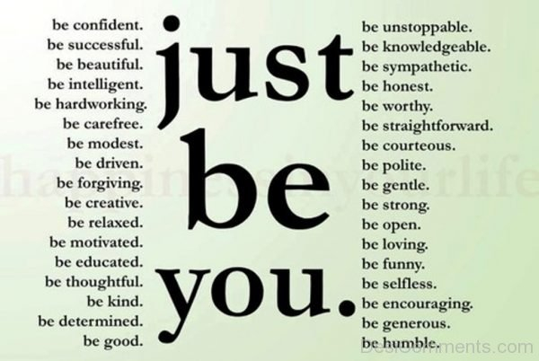 Just Be You-Dc25