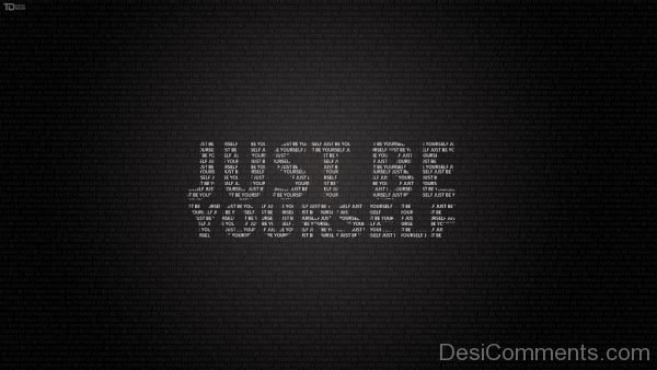 Just  Be Yourself Image
