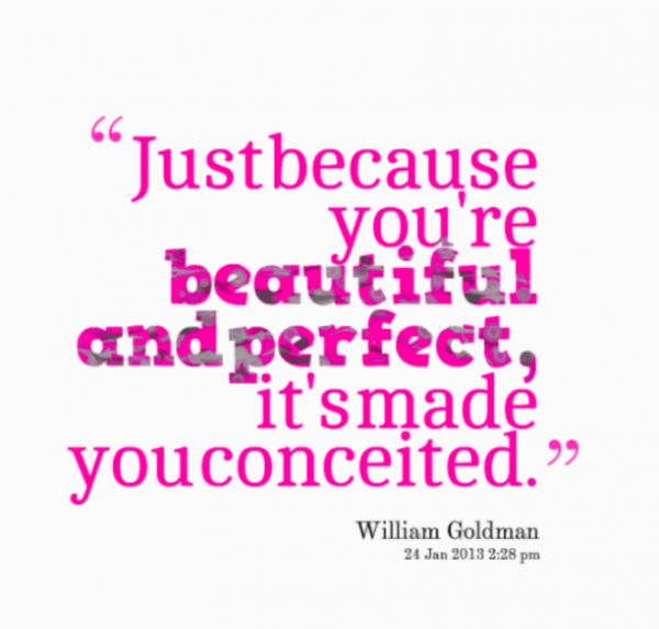 Just Because You Are Beautiful And Perfect-DC050