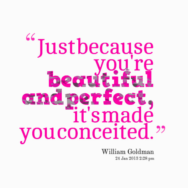 Just Because You Are Beautiful And Perfect-ybe2031DC085