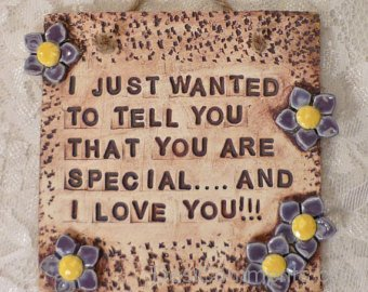 Just Wanted To Tell You That You Are Special And I Love You-DC63DC23