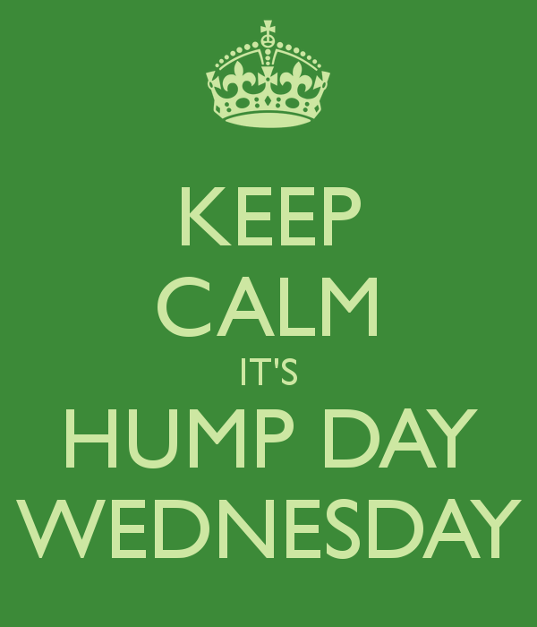 Keep Calm It's Hump Day Wednesday - DesiComments.com