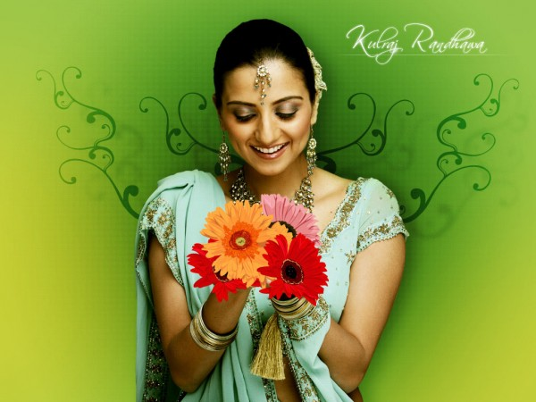 Kulraj Randhawa With Flowers