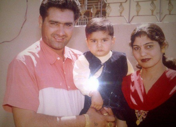 Kulwinder Dhillon With Family