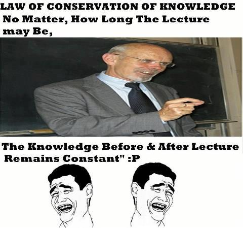 Law Of Conservation Of Knowledge