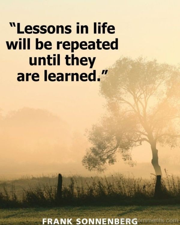 Lessons In Life
