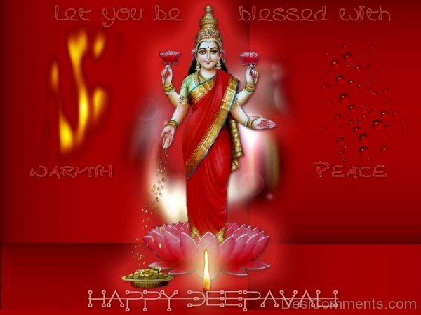 Let You Be Blessed With Warmth Peace Happy Deepawali-DC936DC13