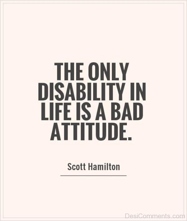 Life Is A Bad  Attitude
