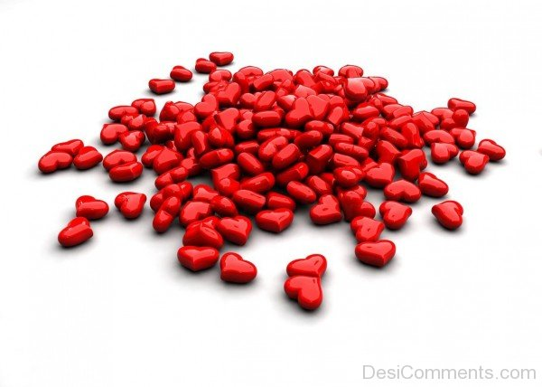 Little Red Hearts- DC 02119