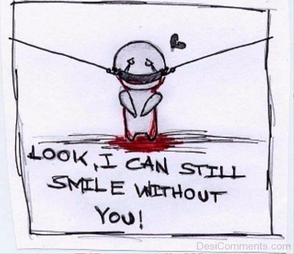 Look,I Can Still Smile Without You