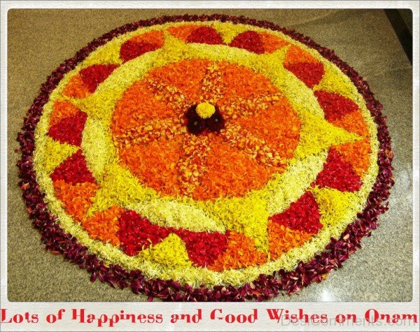 Lots of happiness and good wishes on Onam