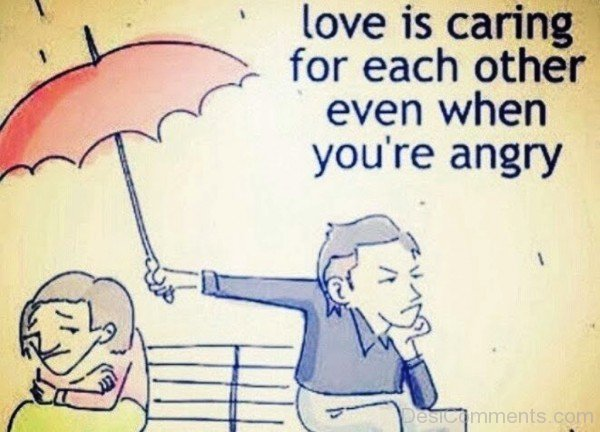 Love Is Caring For Each Other