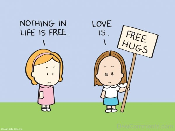 Love Is Free Hugs-DC086