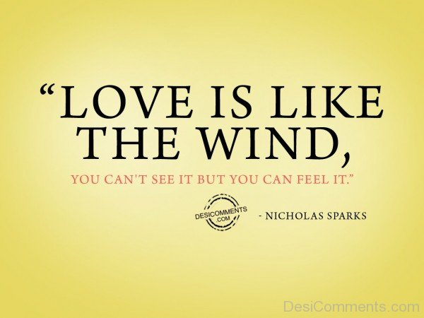 Love Is Like The Wind - 31