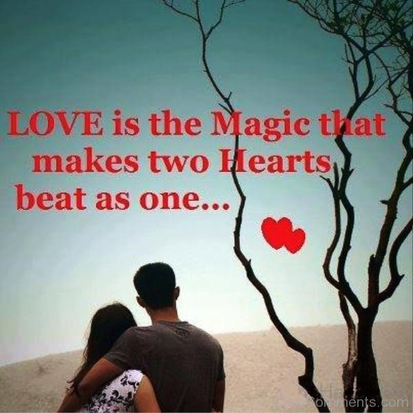 Love Is The Magic That Makes Two Hearts-yt912Dc00DC10
