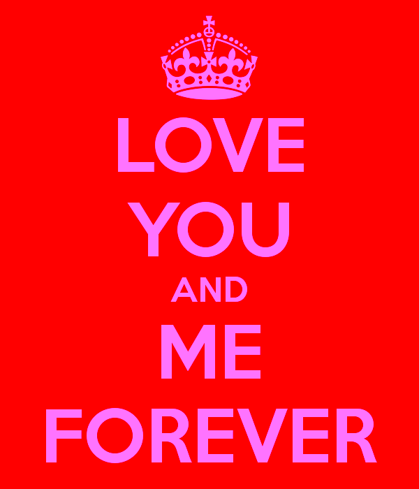 Love You And Me Forever-pol9055DC019