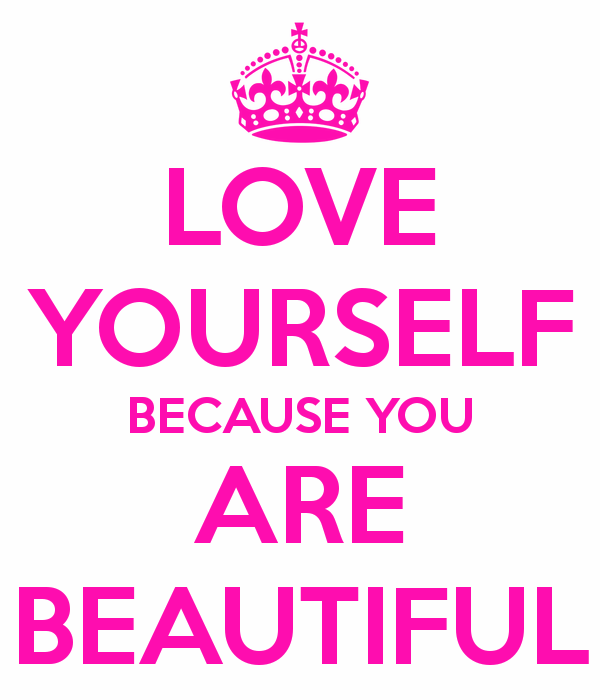 Love Yourself Because You Are Beautiful-ybe2038DC033
