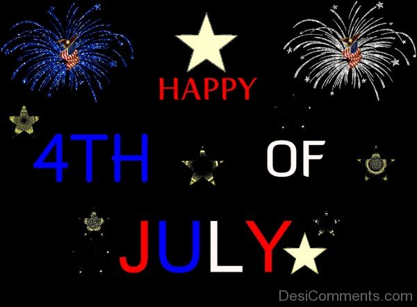 Lovely Animated Image Of 4Th Of July