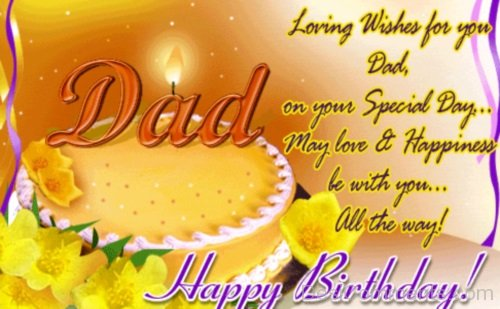 Picture: Loving Wishes For Dad