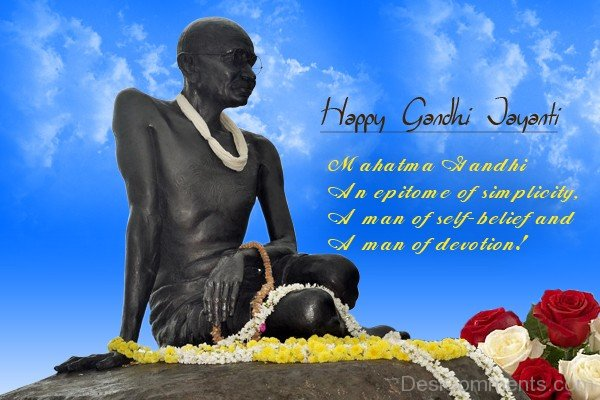 Picture: Mahatma Gandhi An Epitome Of Simplicity