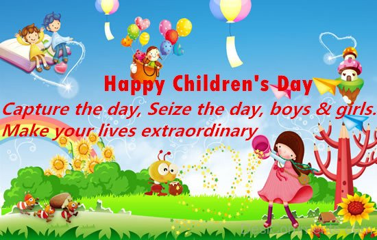 Make Your Life ExtraOrdinary - Happy Childrens Day