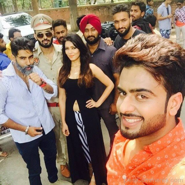 Harish Verma Gurshabad Selfie New Song Download: Mankirt Aulakh During Shoot