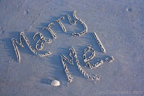 Marry Me Sand Image