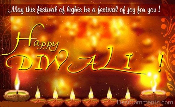 May This Festival Of Lights Be A Festival Of Joy For You! Happy Diwali!-DC936DC14