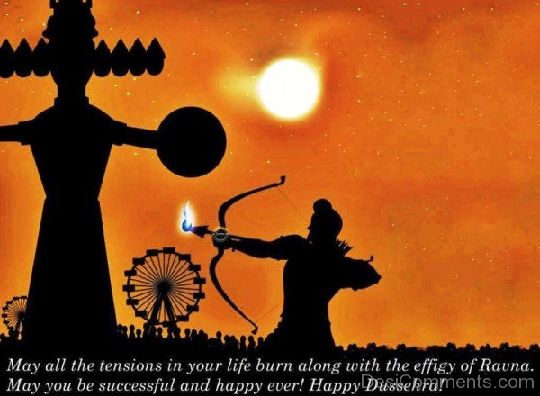 May You Be Successful And Happy Ever! Happy Dussehra!-DC0225