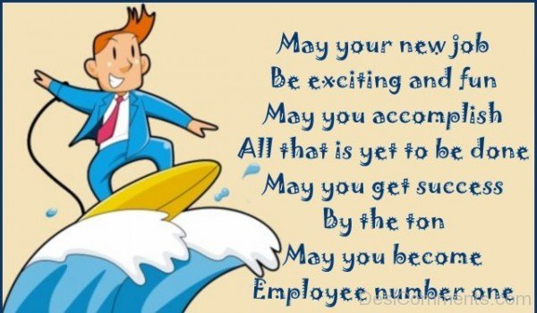May Your New Job