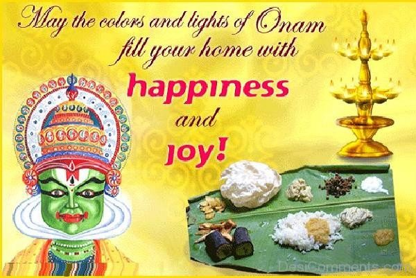 May the colors of Onam full your home with happiness