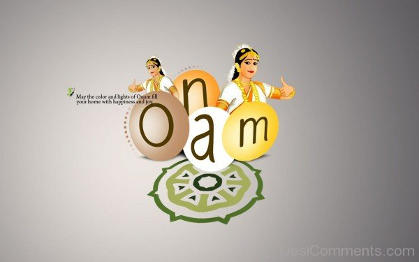May the lights of Onam fill your home with happiness