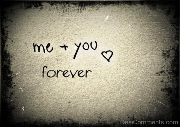 Me And You Forever-pol9058DC115