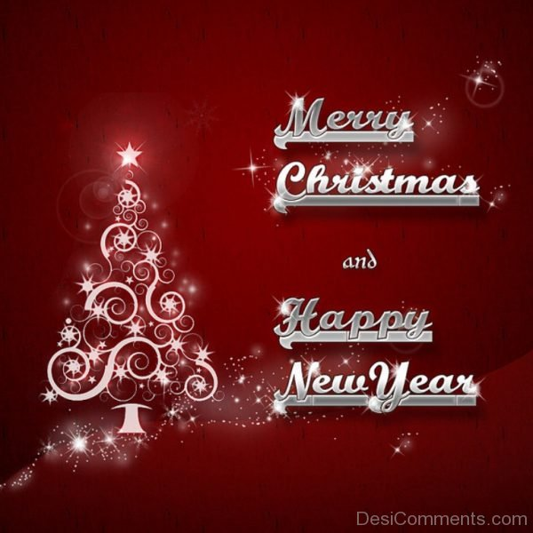 Merry Christmas And Happy New Year-DC26