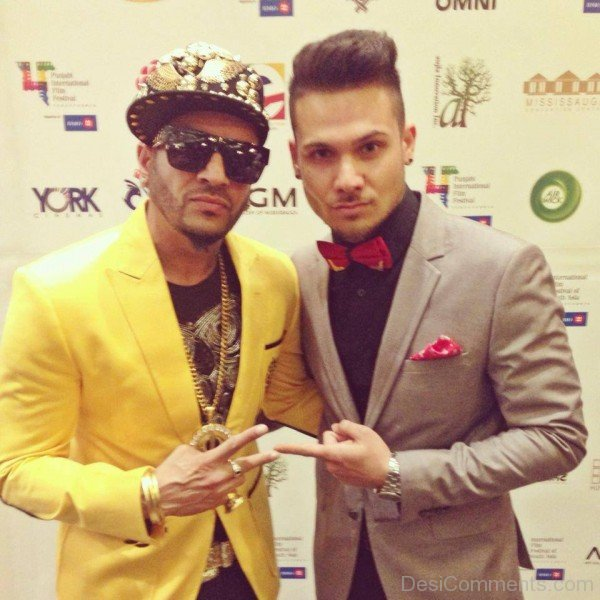 Mickey Singh With Jazzy B