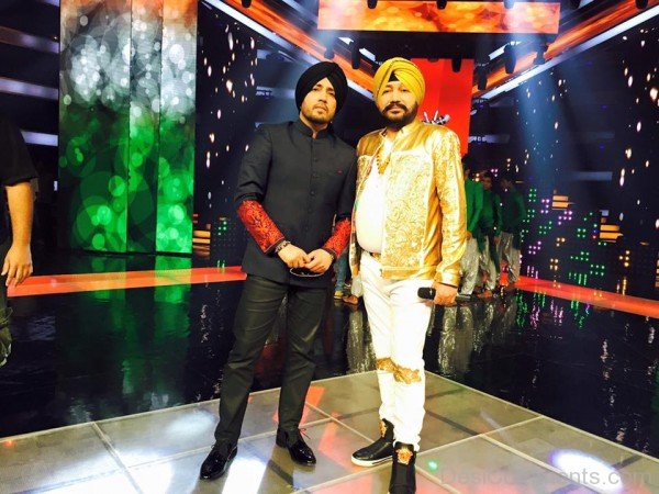 Mika Singh With Daler